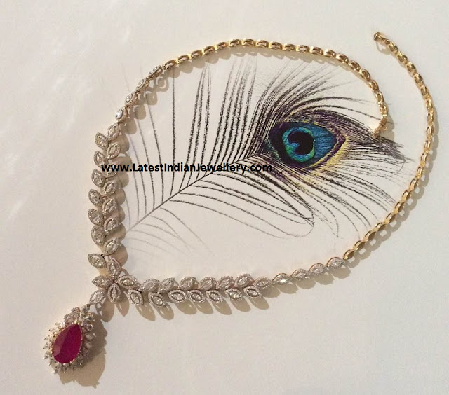 Simple Looking Diamond Necklace
