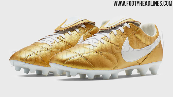 b451e2289610 Insane Gold Nike Premier II 2019 Boots Revealed - Footy Headlines