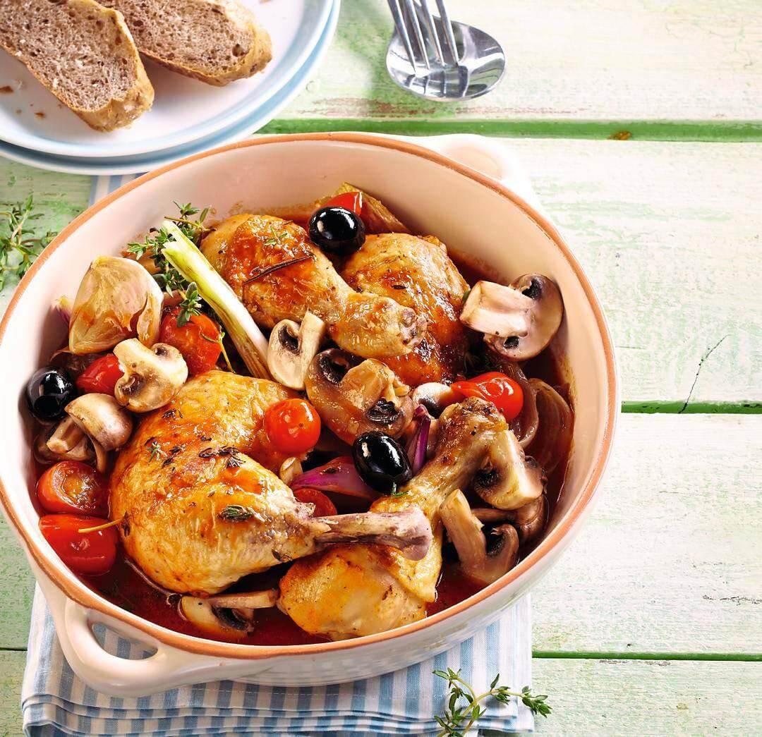Recette facile - Poulet aux olives