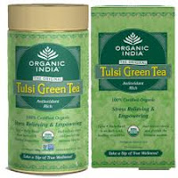 Organic India Tulsi Tea by Vibhu & Me