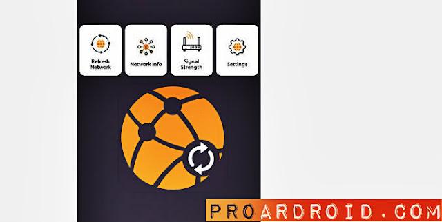 تطبيق Network & Internet Refresher لتحسين شبكه الجوال وسرعه الإنترنت النسخة المدفوعة logo