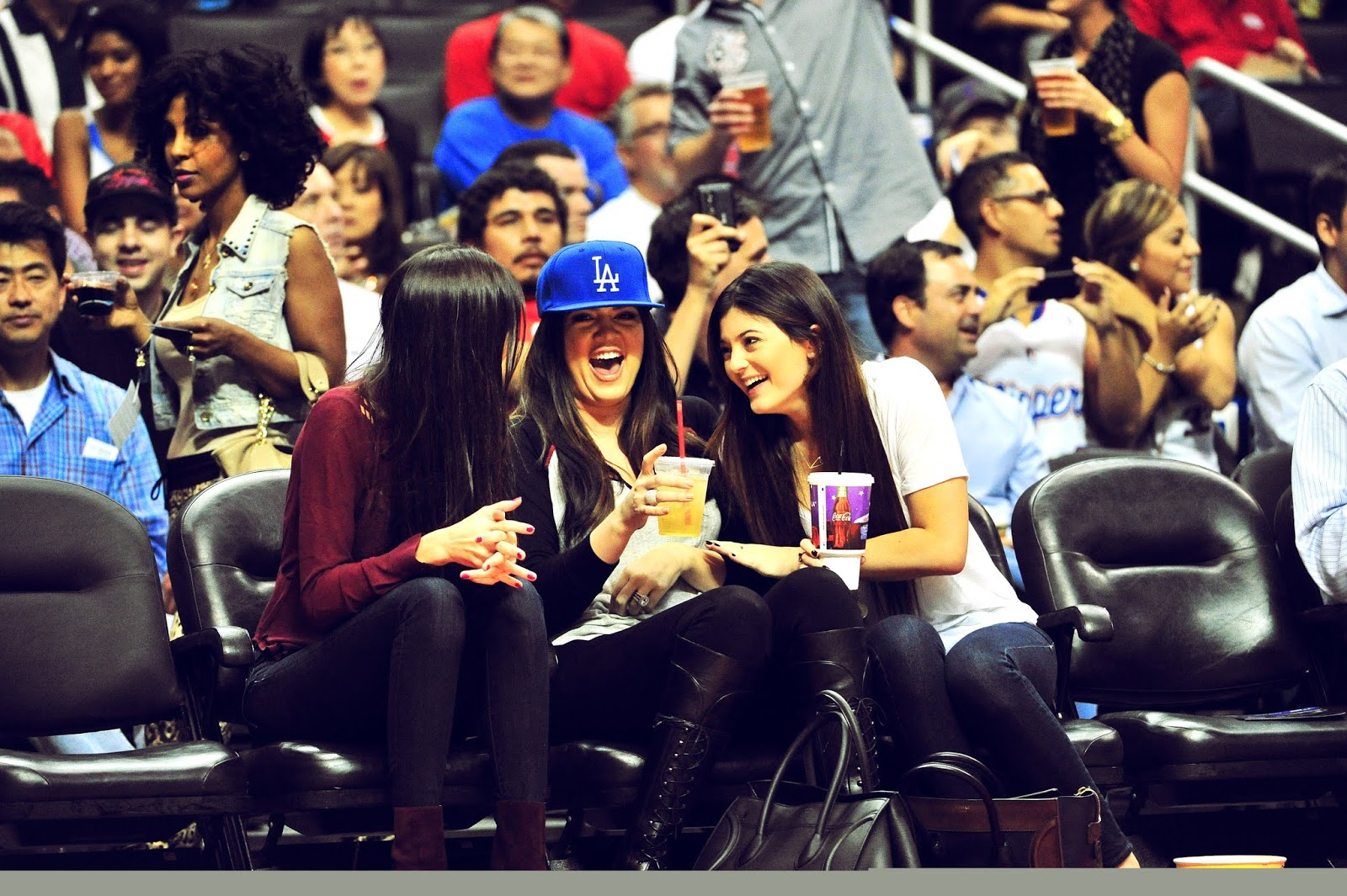 02 - Watching The Los Angeles Clippers Game on October 17, 2012