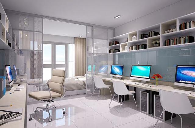 Không gian bên trong Officetel Golden King