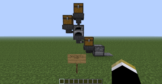 R3b3l_Skywak3r: Minecraft Blog: Automatic Furnace (and 2
