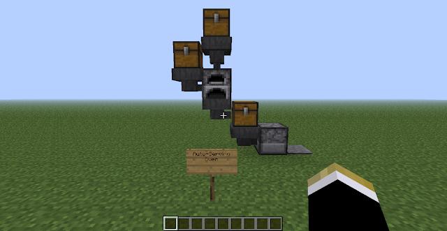 R3b3l_Skywak3r: Minecraft Blog: Automatic Furnace (and 2