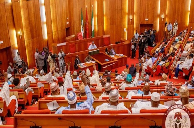 @NGRSenate PASSES BILL TO ENFORCE INAUGURATION OF @NGRPresidentNGRPresident, VICE PRESIDENT AT NATIONAL ASSEMBLY.