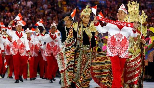 Tragis..!! Kostum Kontingen Indonesia Dicela Bangsa Sendiri, Dipuji Orang Asing