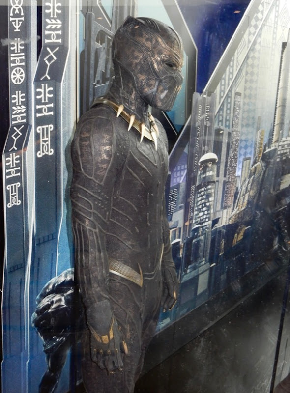 Erik Killmonger Black Panther film costume