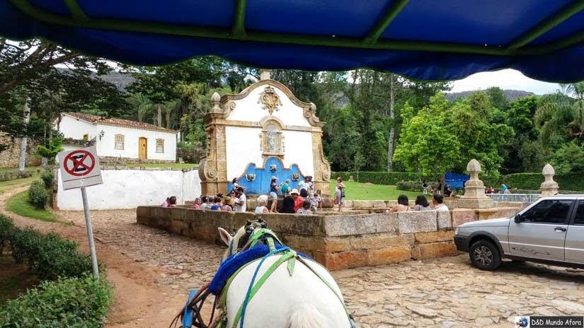 Passeio de charrete em Tiradentes  - Chafariz de São José
