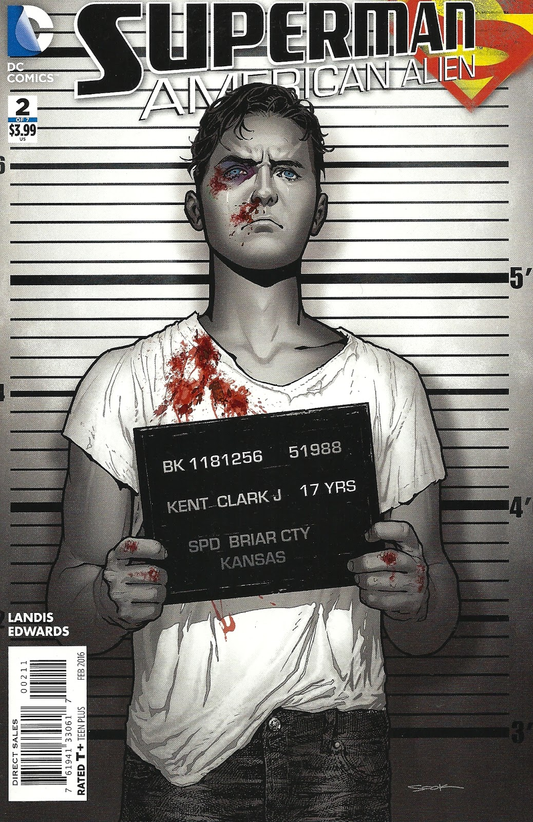 Every Day Is Like Wednesday: On Superman: American Alien #2