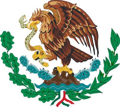 Elang Emas Lambang Negara Mexico - berbagaireviews.com