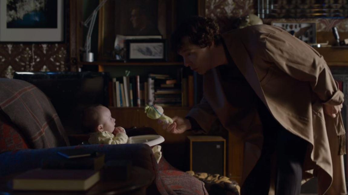 Sherlock John Mary baby Rosemund