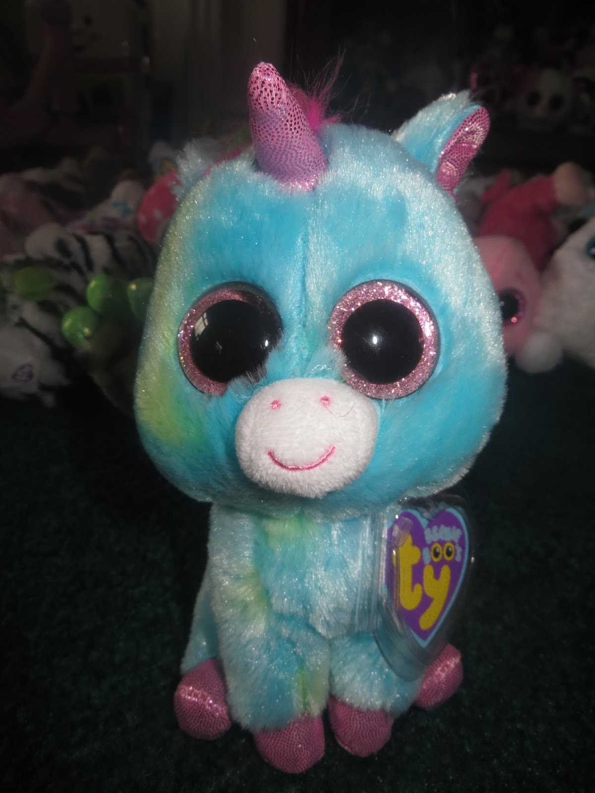 0a71ea3839a Day 4 Introduction of Beanie Boos (Unicorns)