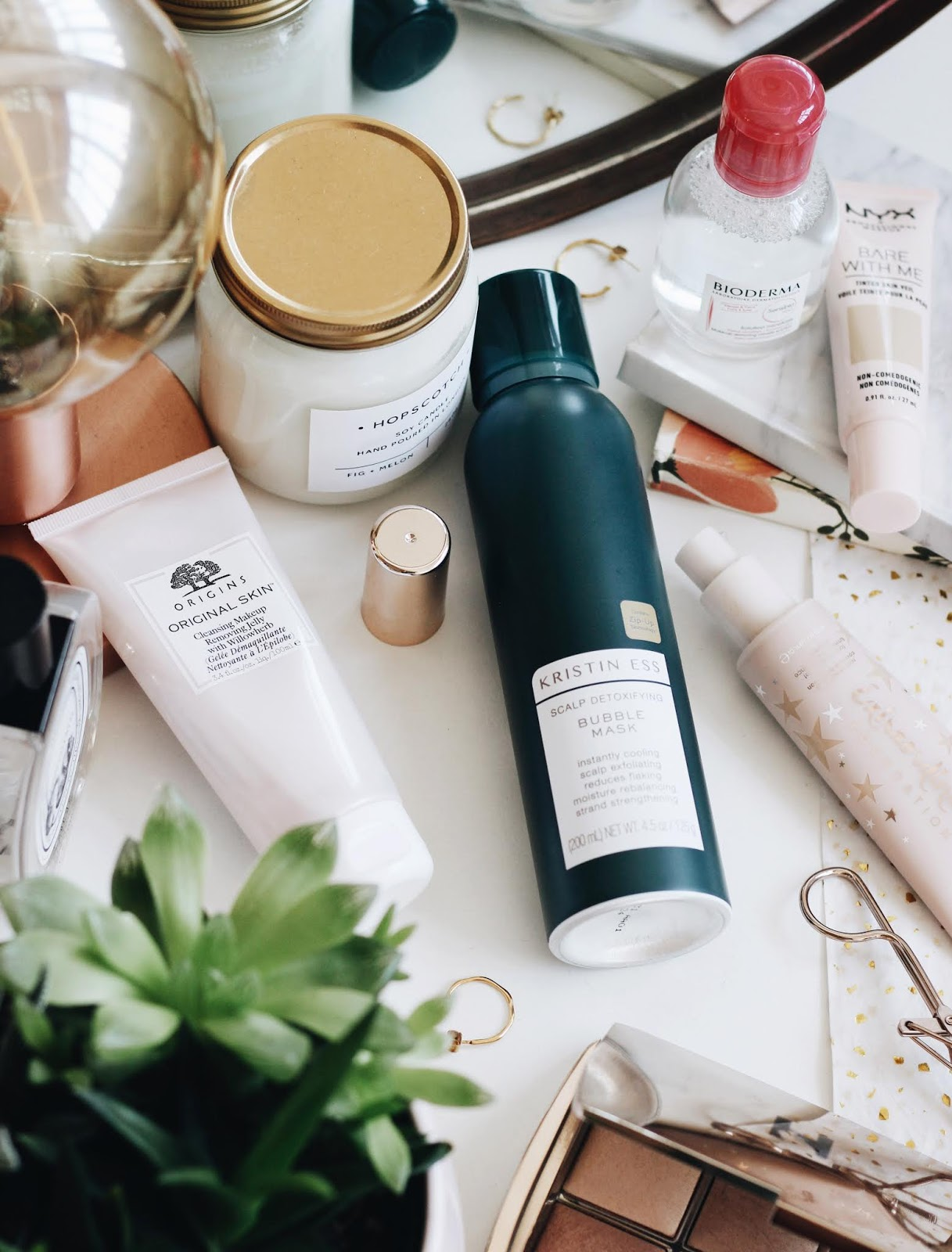 A Spring Beauty Haul ft. Kristin Ess, Bioderma, Origins, NYX and Ciate.