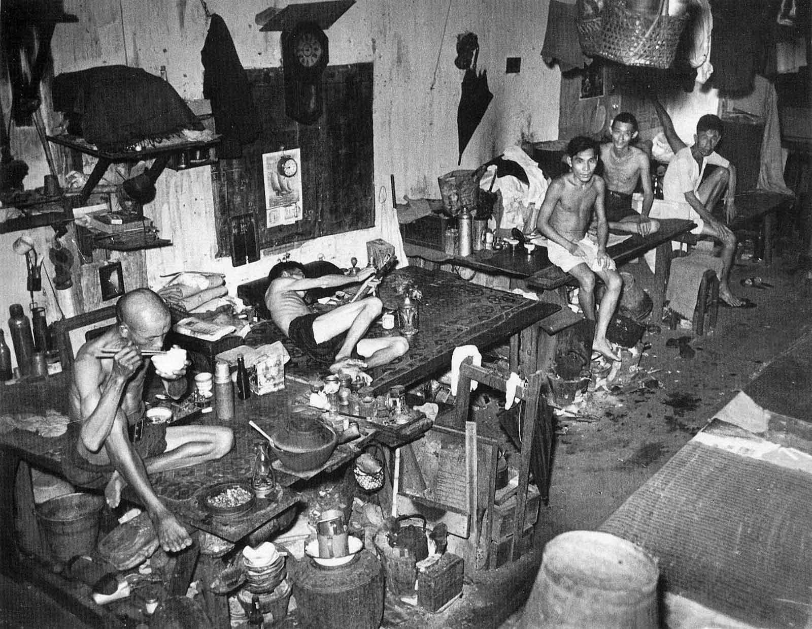 Pictures of an Opium Den in Singapore in 1941 ~ vintage everyday