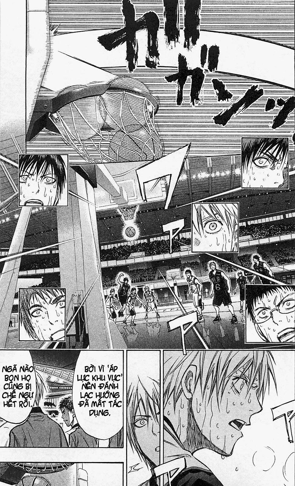 Kuroko No Basket chap 134 trang 17
