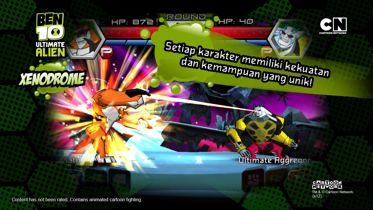 download game android ben 10 xenodrome mod apk
