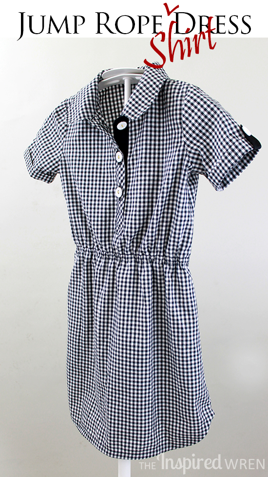 Great pattern hack! Oliver + S Jump Rope Dress into Shirt Dress   The Inspired Wren