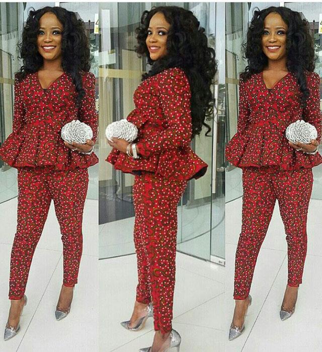 New kitenge trouser designs=