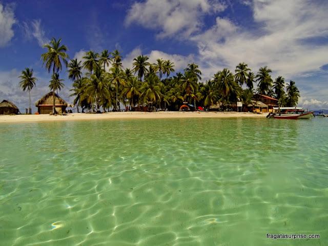 Ilha Assudud, arquipélago de San Blas, Panamá
