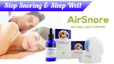 AirSnore Best Anti Snoring Mouthpiece and Drops