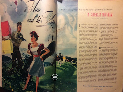 The Kite by W. Somerset Maugham in Today's Woman Nov 1946 illustration