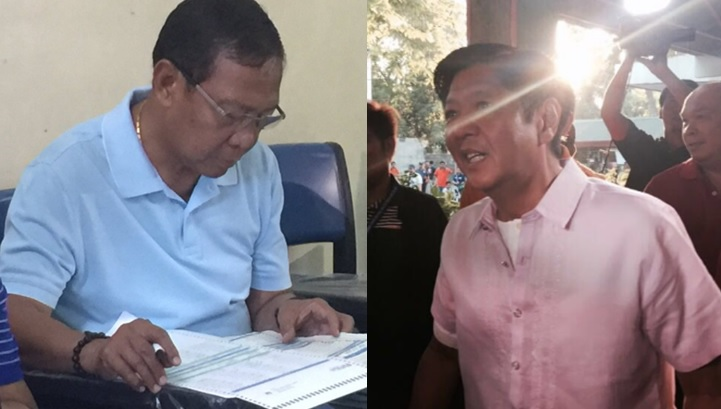 VP Binay, Bongbong Marcos among the first to vote