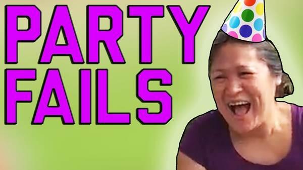 Os melhores fails de festa Fail army