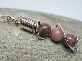 Rhodonoite Jewellery