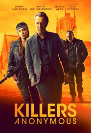 Killers Anonymous (2019) Hindi Dubbed 720p HDRip 800MB Free Download