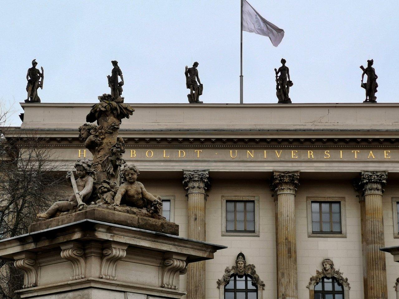 Uniwersytet Humboldta przy Unter den Linden w Berlinie