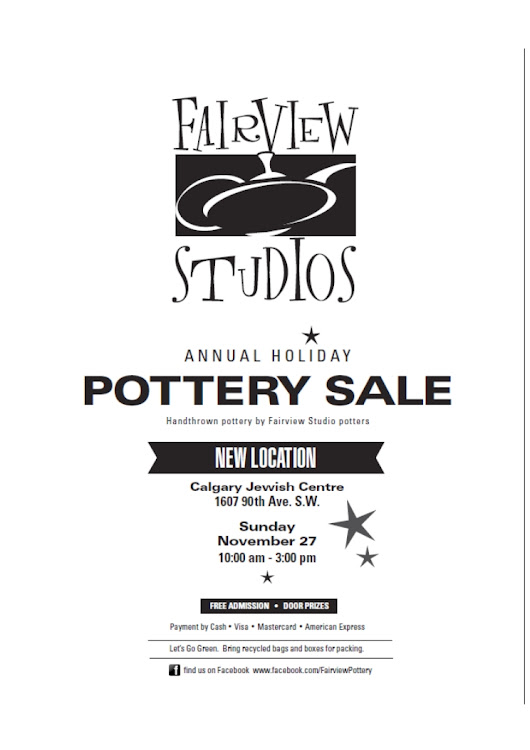 Fairview Studios 2016 Fall Pottery Sale