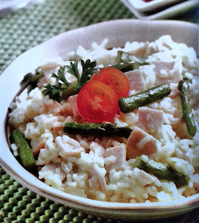 Gambar Resep Smoked Chicken Breast Risotto