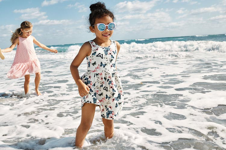 Moda primavera verano 2018 vestidos para nenas. Moda verano 2018. Moda 2018.