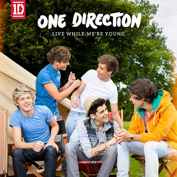 Live while we're young one direction [lyrics + pictures.