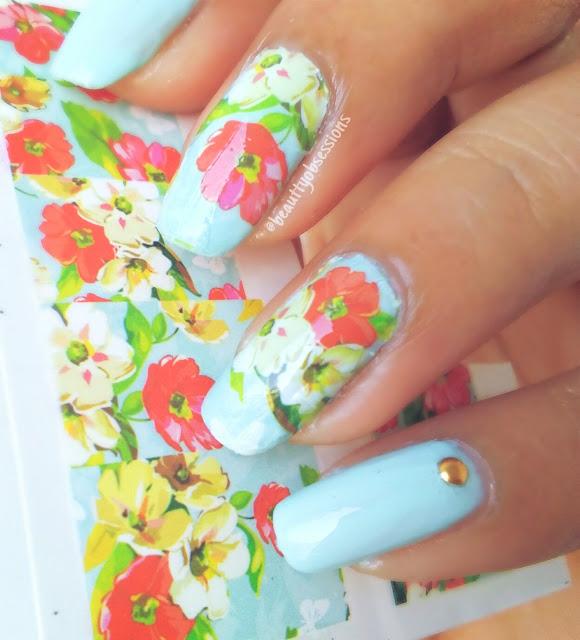 Flower Pattern Nailart Tutorial | Feeling Spring-y Already
