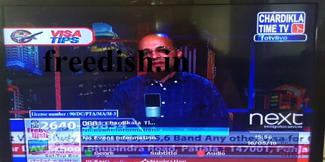 Chardikla Time TV Frequency on DD Freedish, Watch Live FREE
