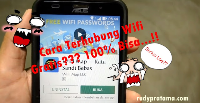 cara terhubung wifi gratis