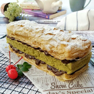 Ide Resep Snow Cake KW Ala Kue Artis