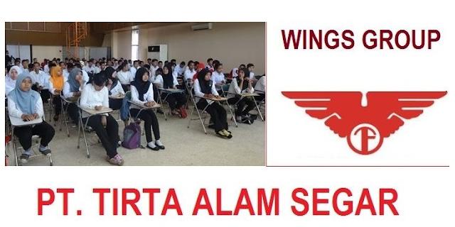 Lowongan Kerja SMA SMK D3 S1 PT. Tirta Alam Segar, Jobs: Administration Sparepart, Operator Analisis Kimia, Manager Produksi.