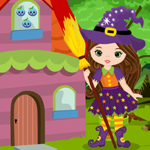 G4K Cute Witch Escape Game