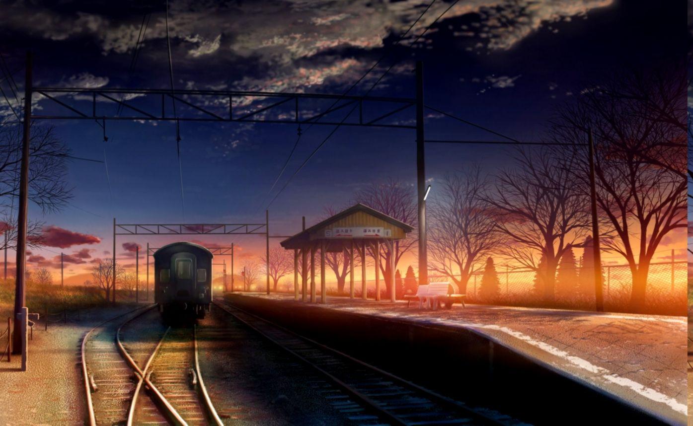 Anime Train Wallpaper Hd Desktop Wallpapers App