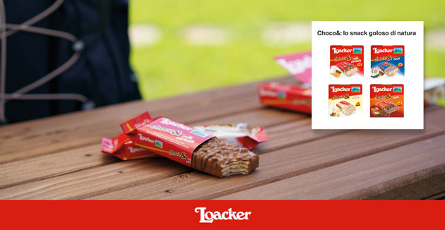 Loacker Choco&: diventa tester con The Insiders