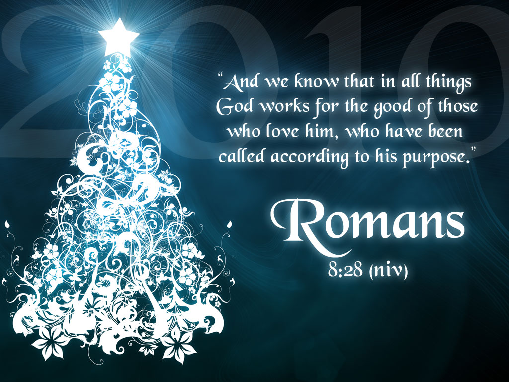 Romans 8 28 Bible Verse Background Wallpapers