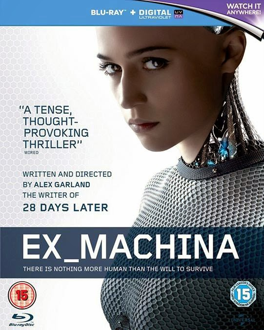 Ex Machina (2015) 1080p BD25 Cover Caratula Blu-ray