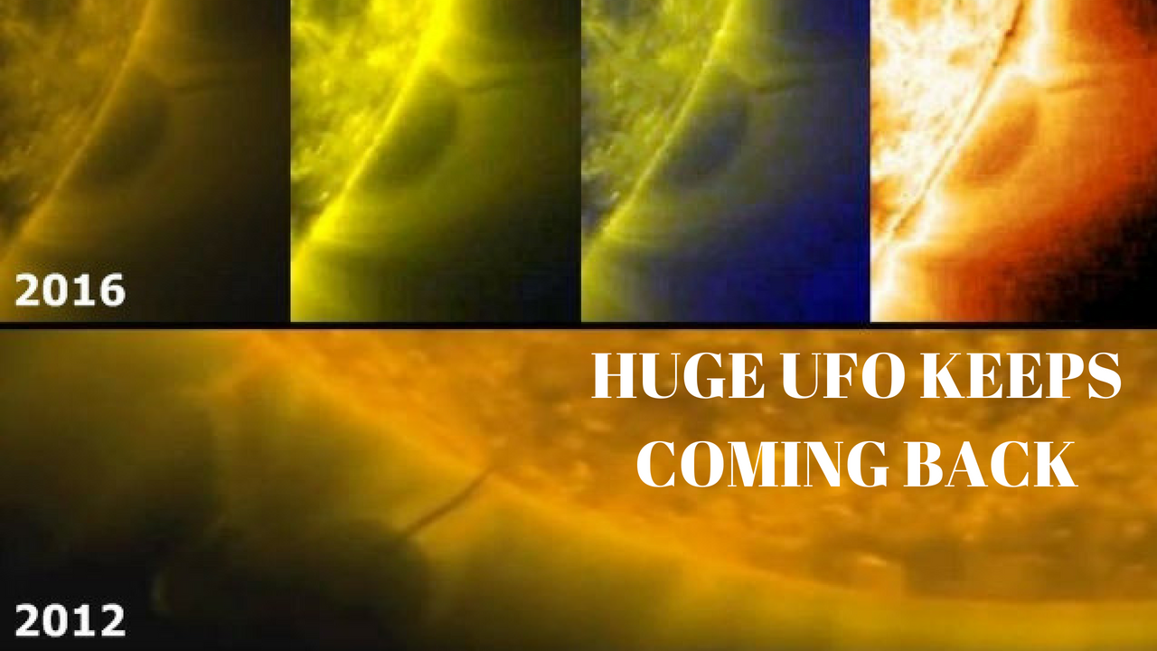 UFOs The Size Of Planets Refuelling At The Sun - But Theres Many Of them