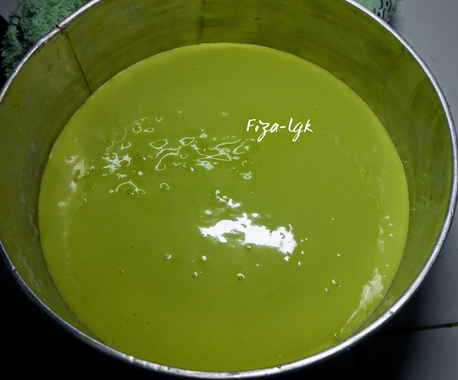 resepi kek pandan kukus mudah resepi membuat kuih Resepi Kek Span Vannila Tanpa Ovelette Enak dan Mudah