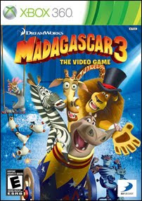 Madagascar 3: The video Game (X-BOX 360)