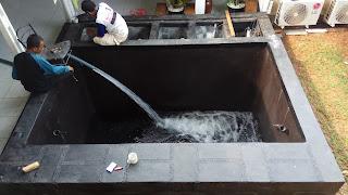 jasa pembuatan kolam koi