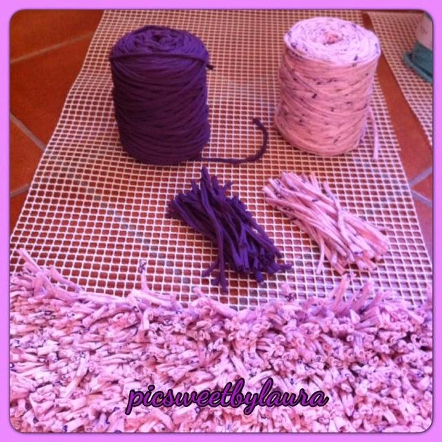 Pic sweet by laura alfombra de trapillo muy cuqui - Alfombra trapillo facil ...